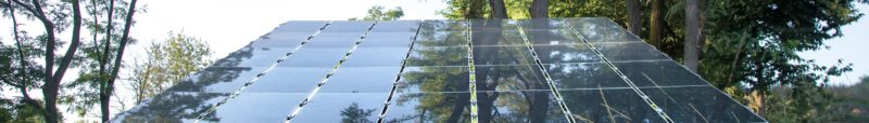 photovoltaics in solar power station energy from natural. Close-up.